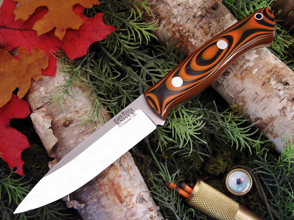 Bark River Aurora Tigerstripe G-10