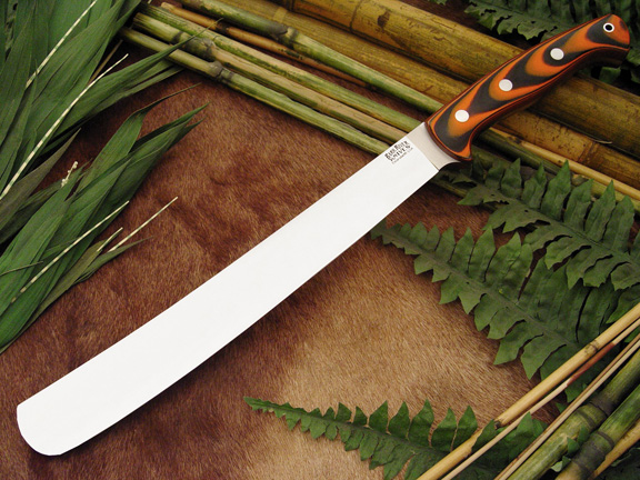 Bark River Golok Tigerstripe G-10